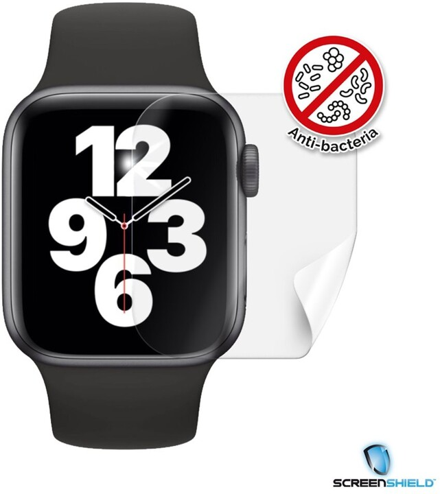 Screenshield fólie na displej Anti-Bacteria pro Apple Watch SE, (40mm)