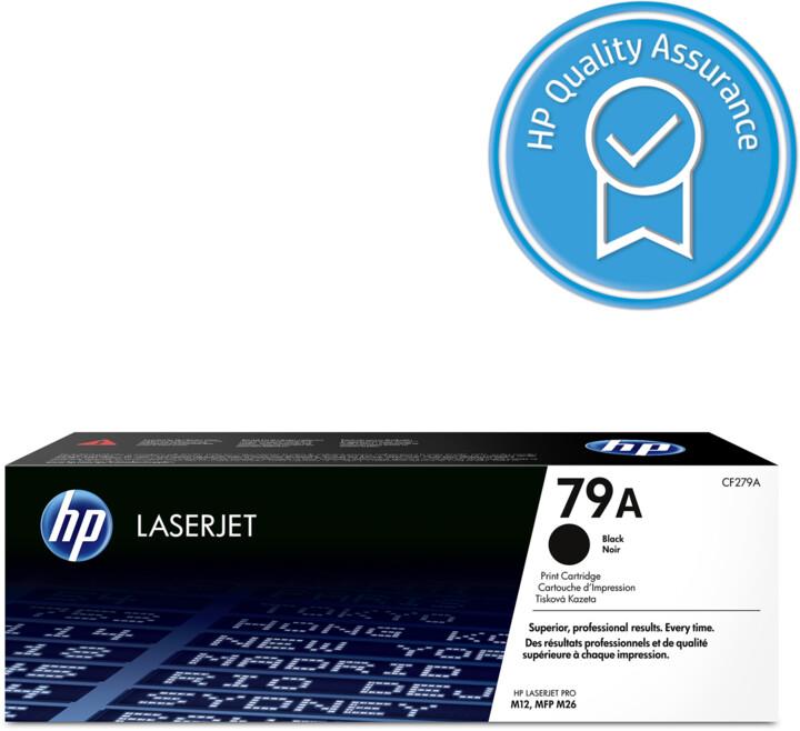 HP CF279A, No.79A, černá