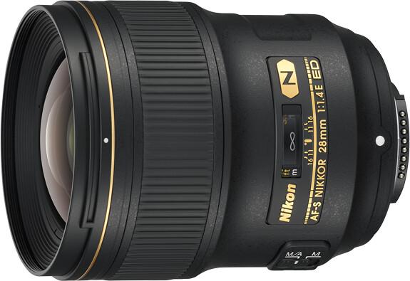 Nikon objektiv Nikkor 28 mm f/1.4E ED AF-S