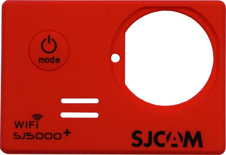 SJCAM ochranný kryt pro SJ5000 Plus, červený