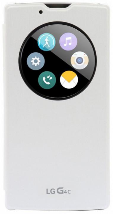 LG QuickCircle pouzdro CCF-600 pro LG G4c, bílá