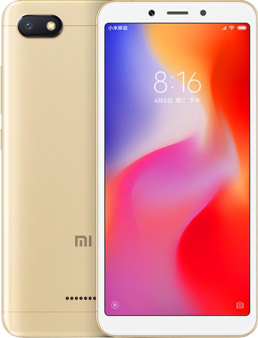 Xiaomi Redmi 6A, 2GB/16GB, zlatá