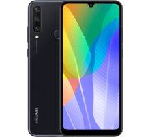 Huawei Y6p, 3GB/64GB, Midnight Black - SP-Y6P64DSBOM + Bezdrátový reproduktor Huawei CM51, šedá v hodnotě 699 Kč