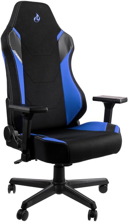 Nitro Concepts X1000, černá/modrá