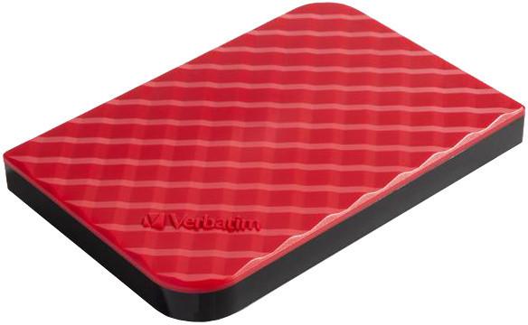 Verbatim Store'n'Go, USB 3.0 - 1TB, červená