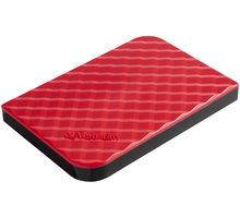 Verbatim Store'n'Go, USB 3.0 - 1TB, červená - 53203