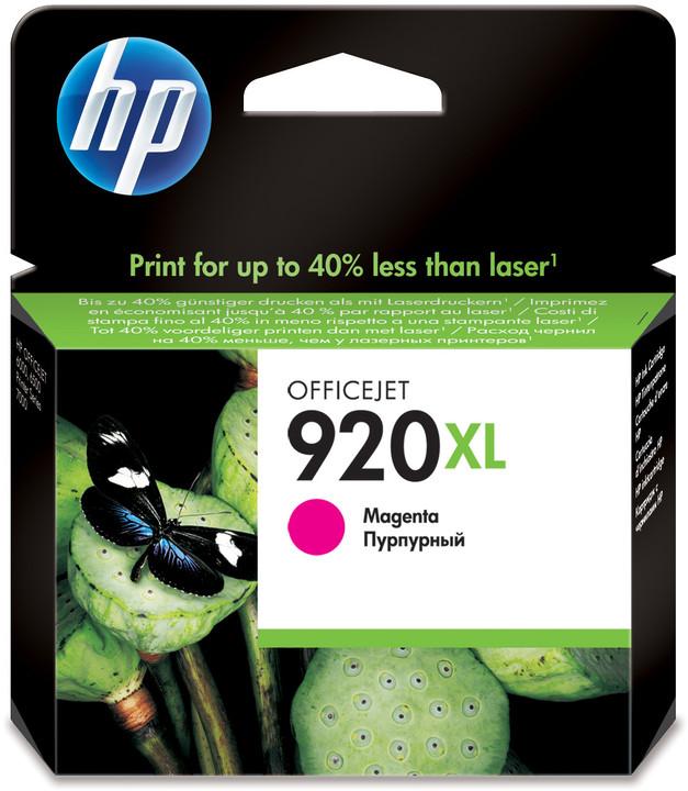HP CD973AE, č. 920XL, purpurová – ušetřete až 50 % oproti standardní náplni