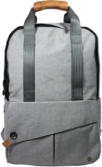 """PKG DRI Tote Backpack 15""""- světle šedý"""