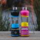 H2O-PAL chytrá láhev pro pravidelné pití, černo/modrá