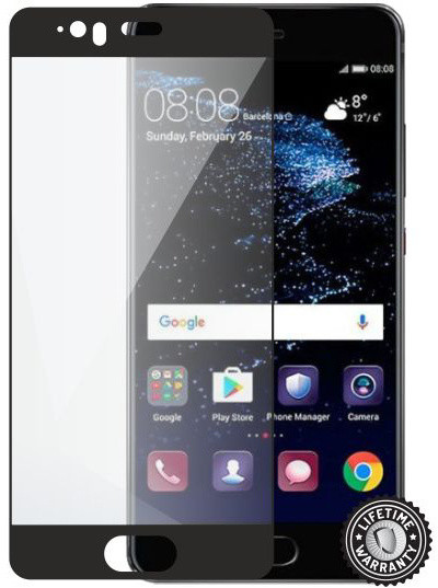 Screenshield ochrana displeje Tempered Glass pro Huawei P10 Plus, černá