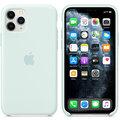 Apple silikonový kryt na iPhone 11 Pro, bledě zelená