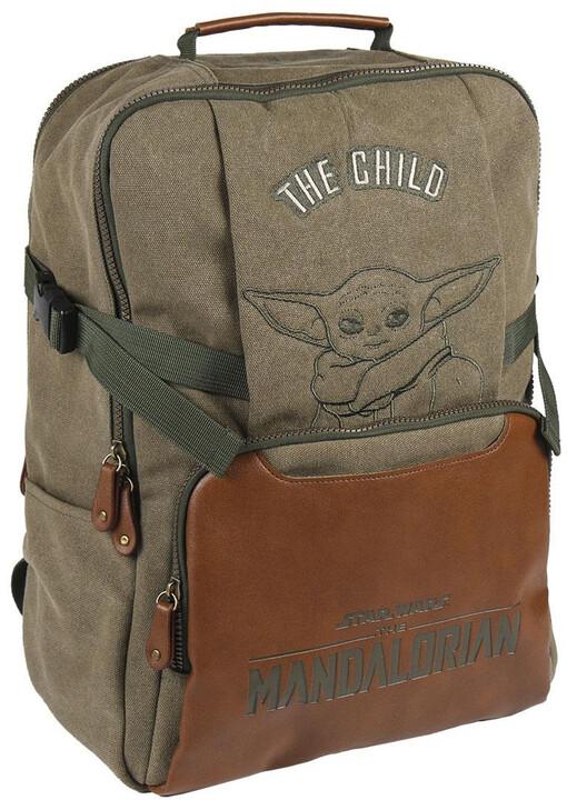 Batoh Star Wars: The Mandalorian - The Child Travel Bag