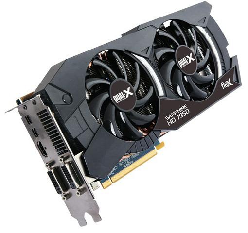 Sapphire HD7950 FLEX OC WITH BOOST 3GB GDDR5