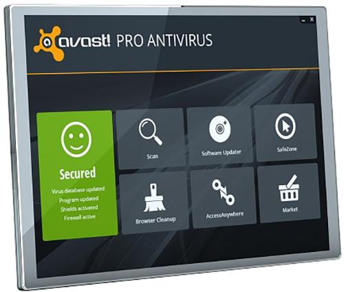 Avast! Pro Antivirus, 5 uživatelů (24 měs.)