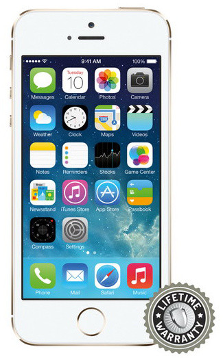 Screenshield ochrana displeje Tempered Glass pro Apple iPhone 5/5S/5C/SE
