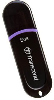 Transcend JetFlash 300 8GB, černo/fialový