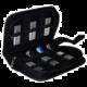 MediaRange obal na Flashdisky a SD karty, černá