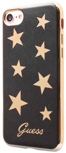 Guess Stars Soft PU Pouzdro Black pro iPhone 7