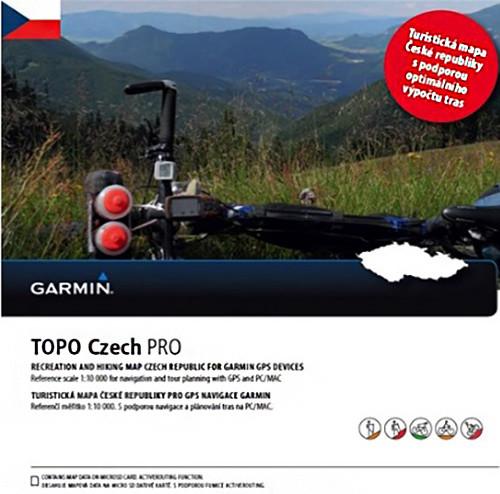 Garmin TOPO Czech Pro 2015, micro SD