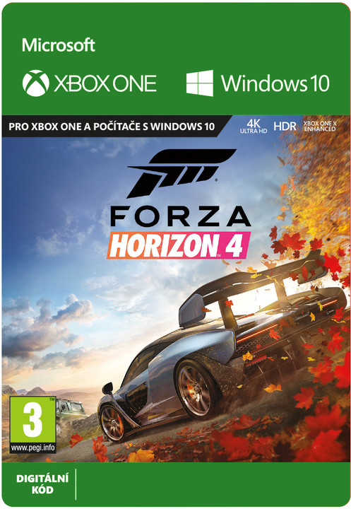 Forza Horizon 4 - Standard Edition (Xbox Play Anywhere) - elektronicky