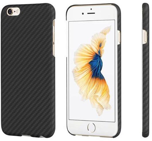 Pitaka Aramid case pro iPhone 6/6s, černá/šedá