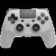 Snakebyte Game:Pad 4 S, bezdrátový, šedý (PS4)