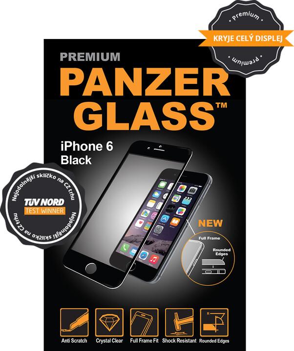 PanzerGlass ochranné sklo na displej pro Apple iPhone 6 Premium černá