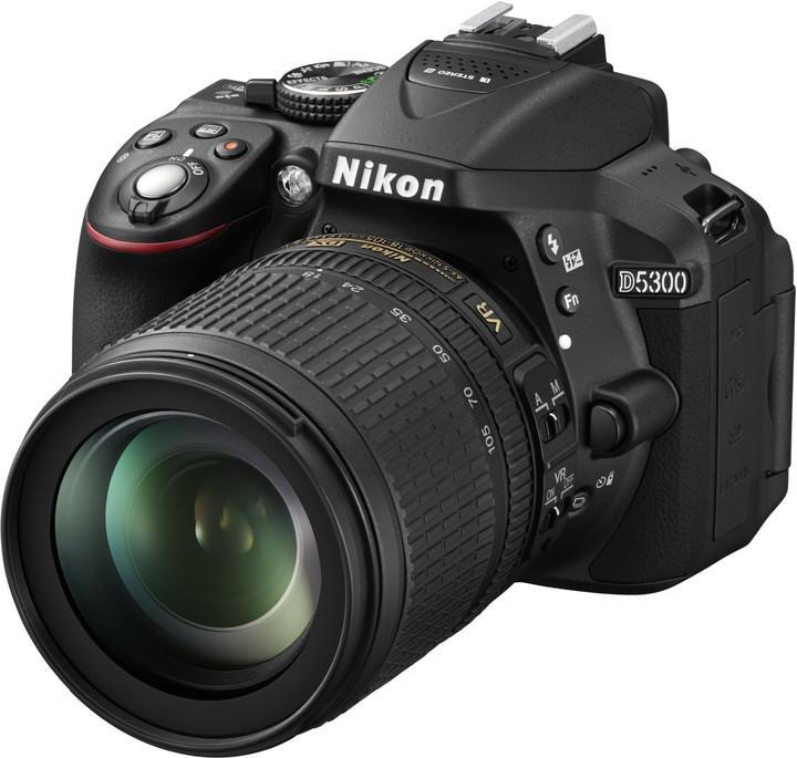 Nikon D5300 + 18-105 VR AF-S DX
