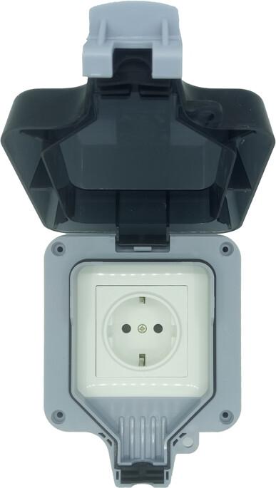 IMMAX NEO LITE Smart Venkovní zásuvka IP66, WiFi
