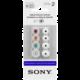 Sony sluchátka EP-EX10A náhradní silikonové koncovky, bílá