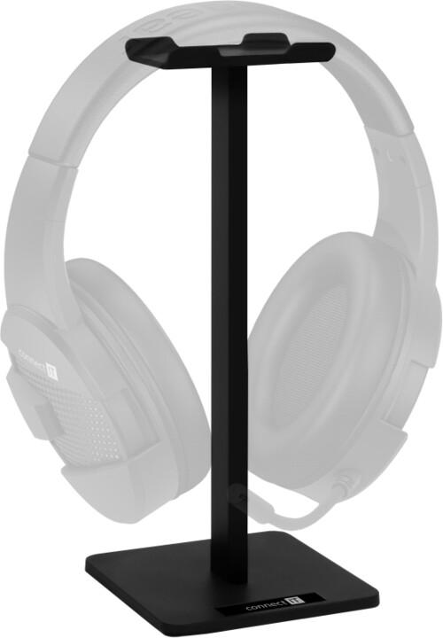 CONNECT IT stojánek na sluchátka, černá
