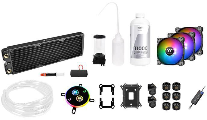 Thermaltake Pacific C360 DDC, Water Cooling Kit (měkké trubky)