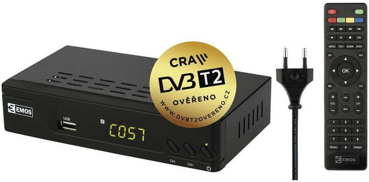 Emos EM170, DVB-T2