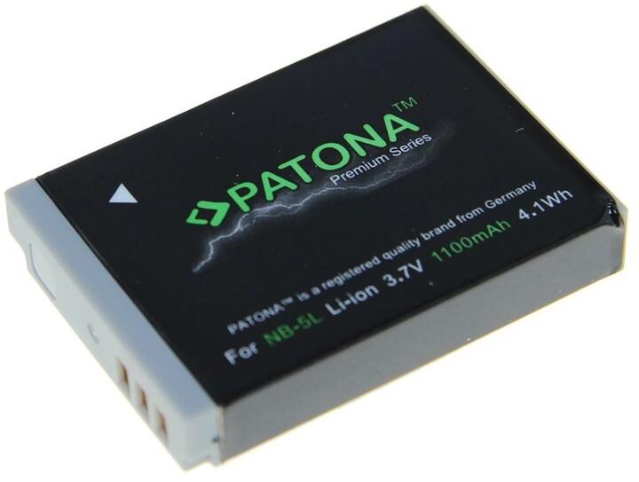 Patona baterie pro Canon NB-5L 1100mAh