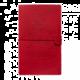 Zápisník Assassin's Creed: Logo, pevná vazba, koženkový obal, A5