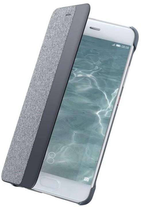 Huawei Original S-View Pouzdro pro P10 Plus, světle šedá