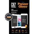 PanzerGlass Edge-to-Edge pro Apple iPhone 6/6s/7/8, bílé CR7