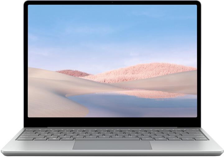 Microsoft Surface Laptop Go, platinová