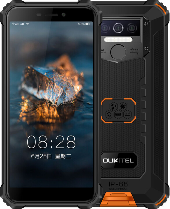 OUKITEL WP5, 4GB/32GB, Orange