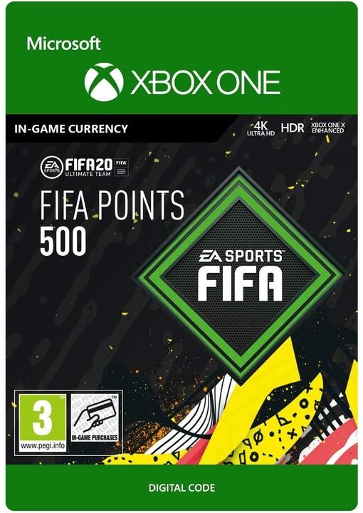FIFA 20 - 500 FUT Points (Xbox ONE) - elektronicky