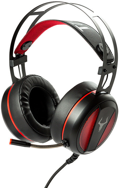 iTek TAURUS H800, černá/červená