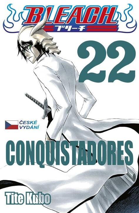 Komiks Bleach - Conquistadores, 22.díl, manga