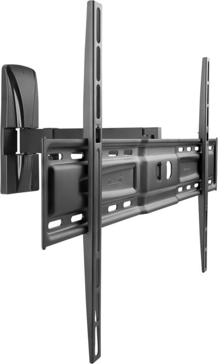 Meliconi 480844 Slim Style 600 SR nástěnný náklonný držák na TV, černá