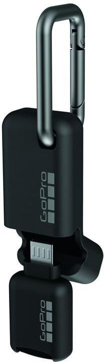 GoPro Quik Key čtečka micro SD karet, micro USB Connector