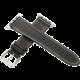 ESES kožený řemínek 42mm pro Apple Watch, černá