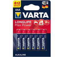 VARTA baterie Longlife Max Power AAA, 4+2ks - 4703101436