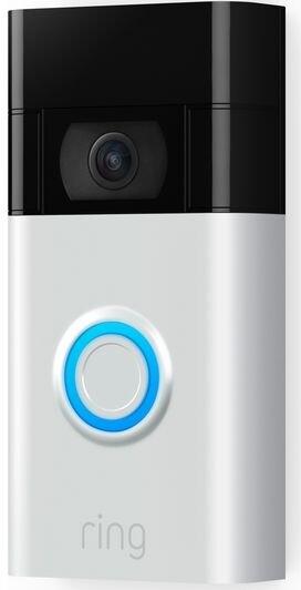 Ring Video Doorbell (Gen 2) - Satin Nickel