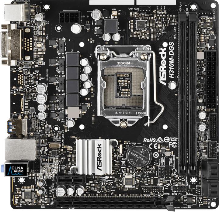 ASRock H310M-DGS - Intel H310