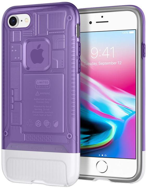 Spigen Classic C1 pro iPhone 8/7, fialová