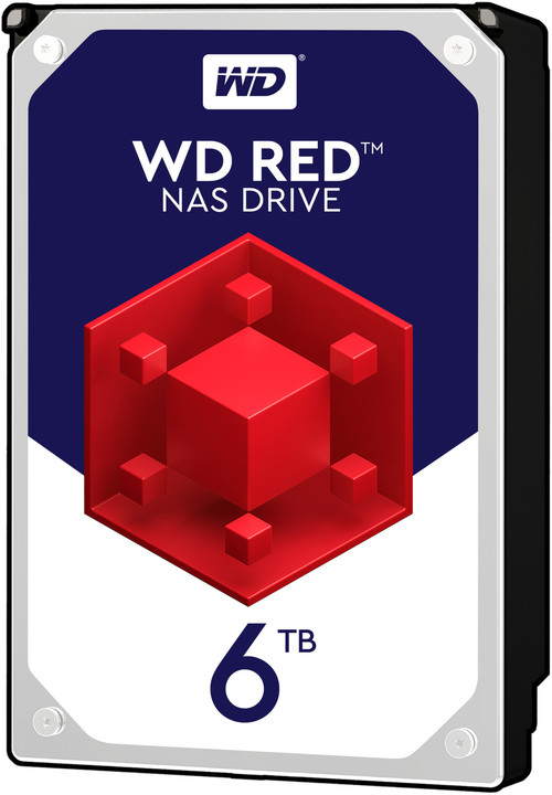 "WD Red (EFRX), 3,5"" - 6TB"